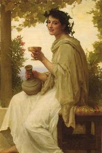 The Female Wine Enthusiast by William Adolphe Bouguereau