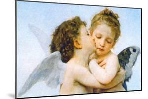 The First Kiss by William Adolphe Bouguereau