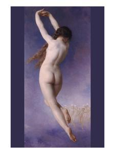 The Lost Pleiad by William Adolphe Bouguereau
