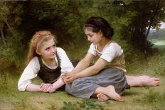 Song of The Angels-William Adolphe Bouguereau-Stretched Canvas