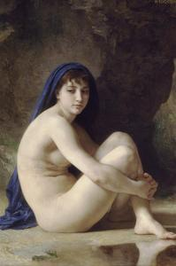 The Seated Bather by William Adolphe Bouguereau