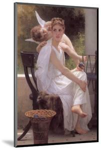 Work Interrupted by William Adolphe Bouguereau