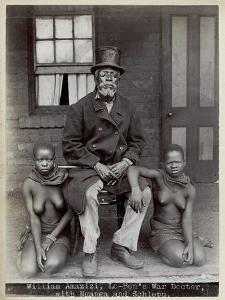 William Amazizi, Lo-Ben's War Doctor with Nganga and Schlepu, 1890s