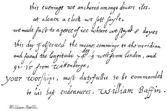 William Baffin--Giclee Print
