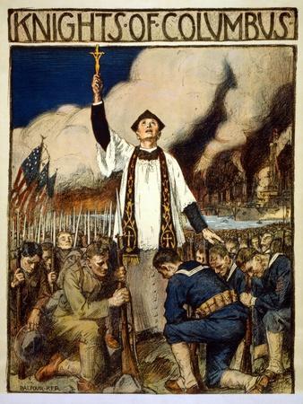 Knights of Columbus, 1917