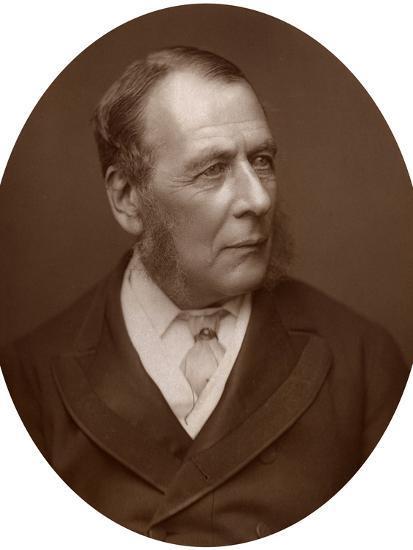 William Ballantine, Serjeant-At-Law, 1882-Lock & Whitfield-Photographic Print