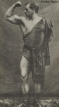 William Bankier dit Apollo (Ecossais), leveur de poids