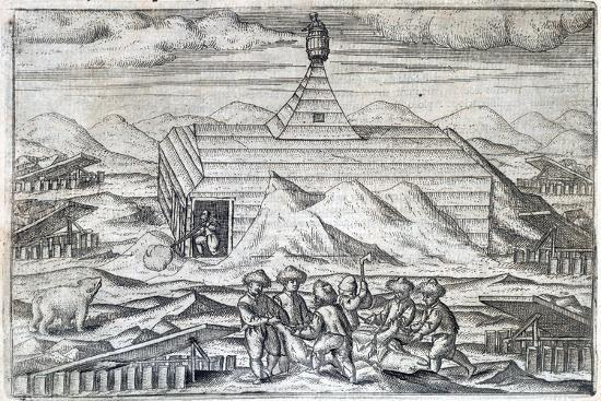 William Barents' Arctic expedition, 1596-1597 (1598)-Unknown-Giclee Print