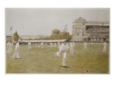 Cricket at Lords, 1896