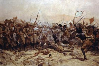 The Battle of Abu Klea, 17th January 1885, 1896