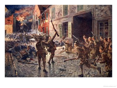 The Coldstream Guards at Landrecies, August 1914