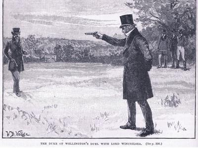 The Duke of Wellington's Duel with Lord Winchilsea 1829