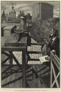 The Royal Observatory, Greenwich, Measuring the Sunshine by William Bazett Murray