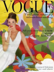 Vogue Cover - May 1959 - Flower Power by William Bell