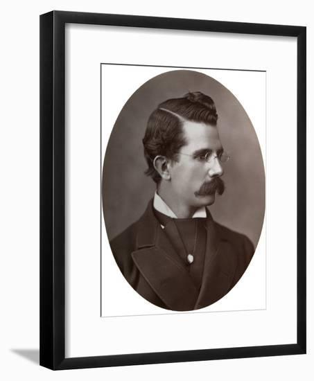 William Black, British Novelist, 1877-Lock & Whitfield-Framed Photographic Print