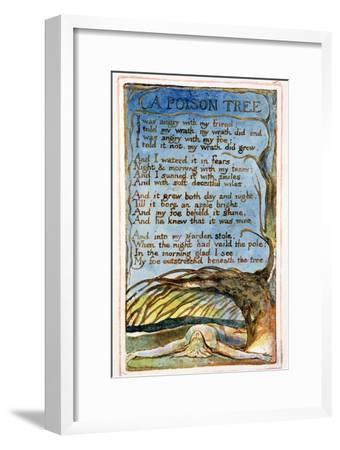 A Poison Tree: Plate 49 from Songs of Innocence and of Experience C.1815-26