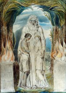 William Blake: Adam & Eve