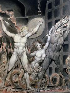Blake: Satan by William Blake