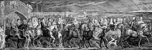 Chaucer's Canterbury Pilgrims, 1810 by William Blake