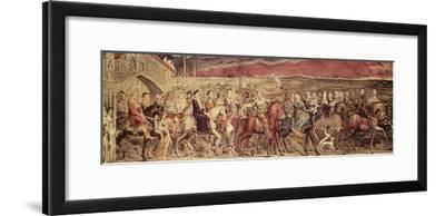 Chaucer's Canterbury Pilgrims, Engraved and Pub. by the Artist, 1810