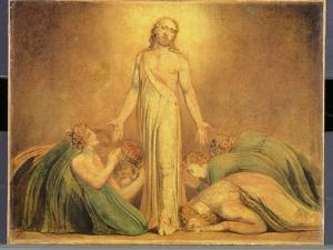 Christ Appearing to the Apostles after the Resurrection, 1795-1805 by William Blake