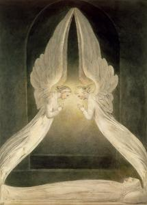 Christ in the Sepulchre, Guarded by Angels by William Blake