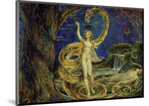 Eve Tempted by the Serpent by William Blake