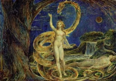 Eve Tempted by the Serpent