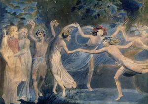 Fairies, C. 1786 by William Blake