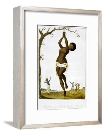 Flagellation of a Female Samboe Slave, 1793