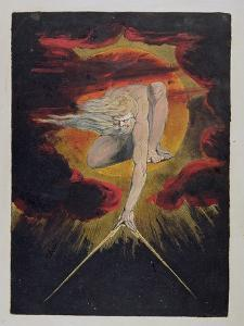 Frontispiece from 'Europe. a Prophecy', 1794 by William Blake