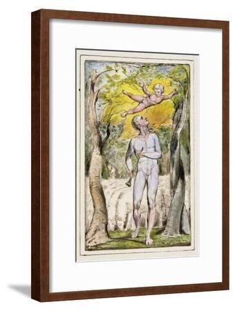 Frontispiece to Songs of Innocence: Plate 1 from Songs of Innocence and of Experience C.1802-08