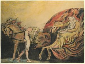 God Judging Adam, c.1795 by William Blake