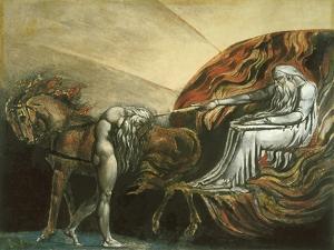 God Judging Adam by William Blake