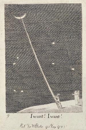 I Want! I Want!, from 'For the Sexes: the Gates of Paradise', 1793 (Line)