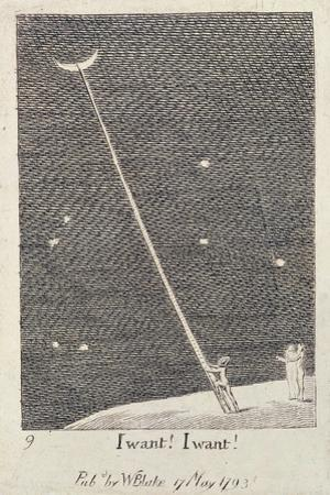 I Want! I Want!, from 'For the Sexes: the Gates of Paradise', 1793 (Line) by William Blake
