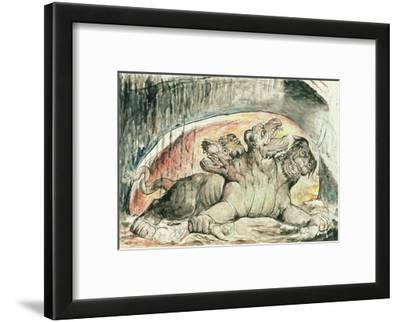 Illustrations to Dante's 'Divine Comedy', Cerberus