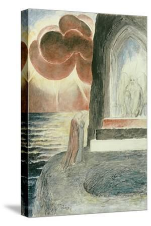 Illustrations to Dante's 'Divine Comedy', Dante and Virgil Approaching the Angel