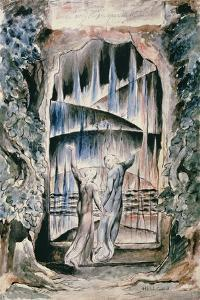 Illustrations to Dante's 'Divine Comedy', the Inscription over the Gate by William Blake
