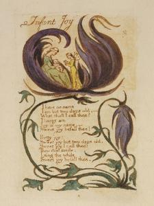 Infant Joy. from 'songs of Innocence' by William Blake