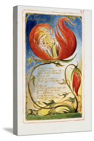 Infant Joy: Plate 25 from Songs of Innocence and of Experience C.1815-26