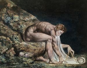 Newton by William Blake