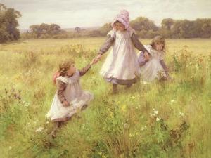 Picking Wild Flowers by William Blake