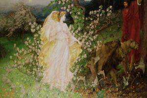 Venus and Anchises, 1889-90 by William Blake Richmond
