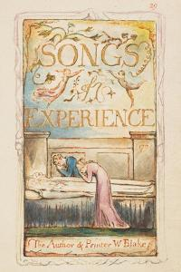 Songs of Experience: Title page, c.1825 by William Blake
