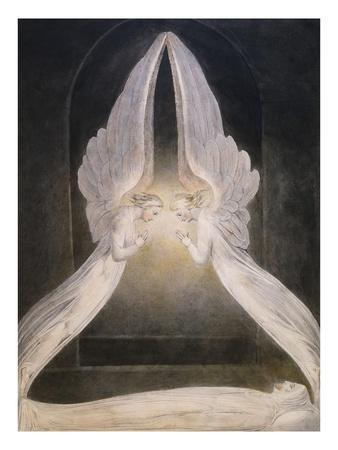 The Angels Hovering Over the Body of Jesus in the Sepulchre