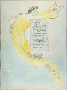 The Bard', Design 52 from 'The Poems of Thomas Gray', 1797-98 (W/C with Pen and Black Ink on Paper) by William Blake
