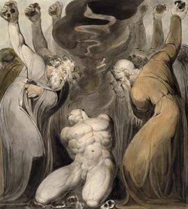 The Blasphemer by William Blake