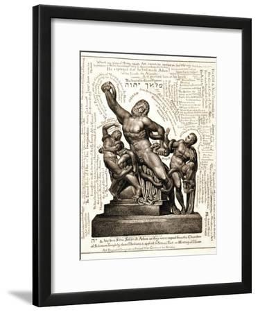 The Laocoon as Jehovah with Satan and Adam, C.1820