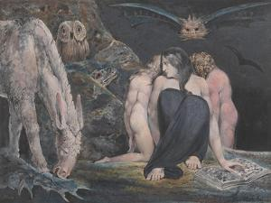 The Night of Enitharmon's Joy (Formerly Called 'Hecate') by William Blake